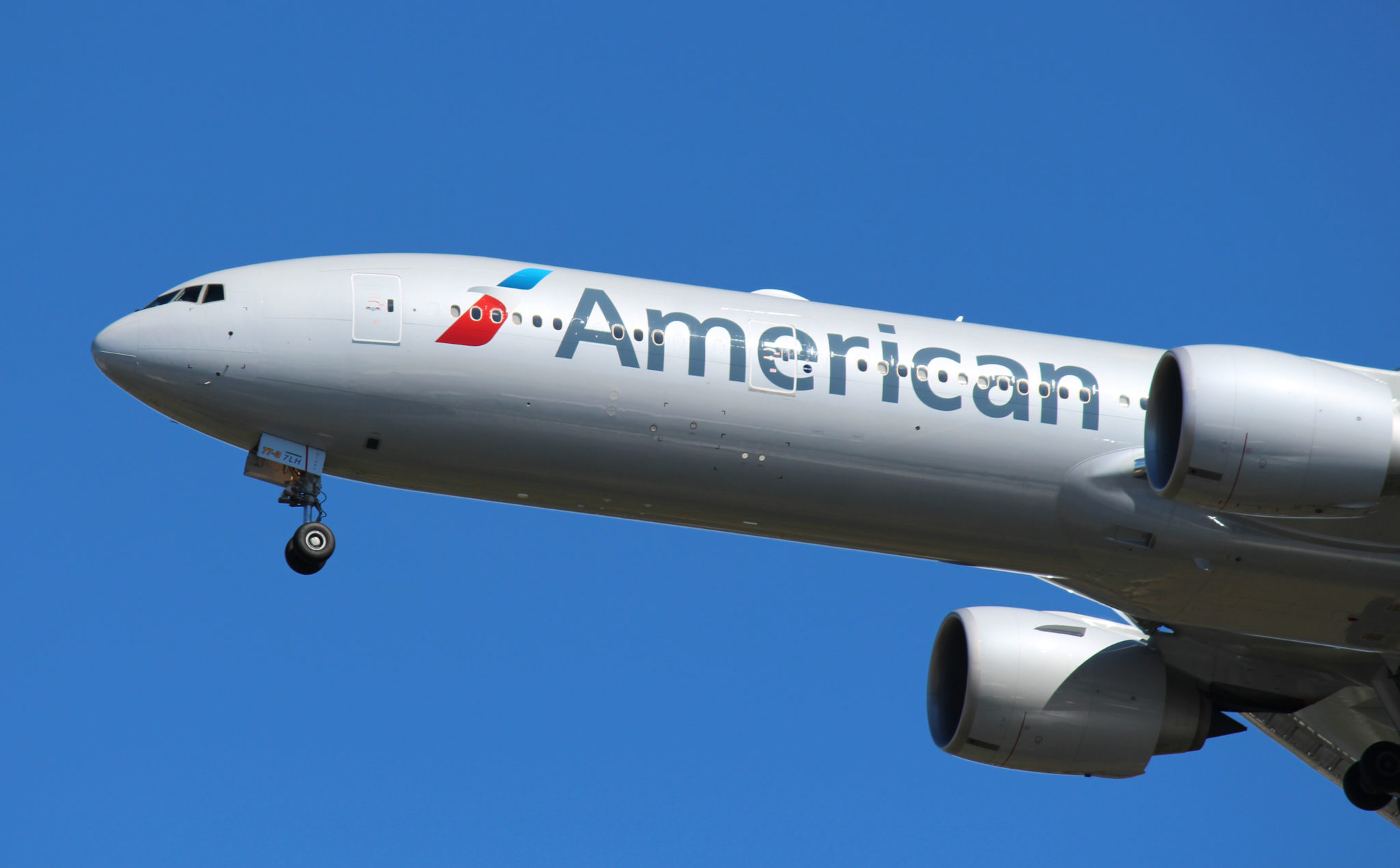 American Airlines' 777 fleet is the next to have the system installed. Image: John Walton