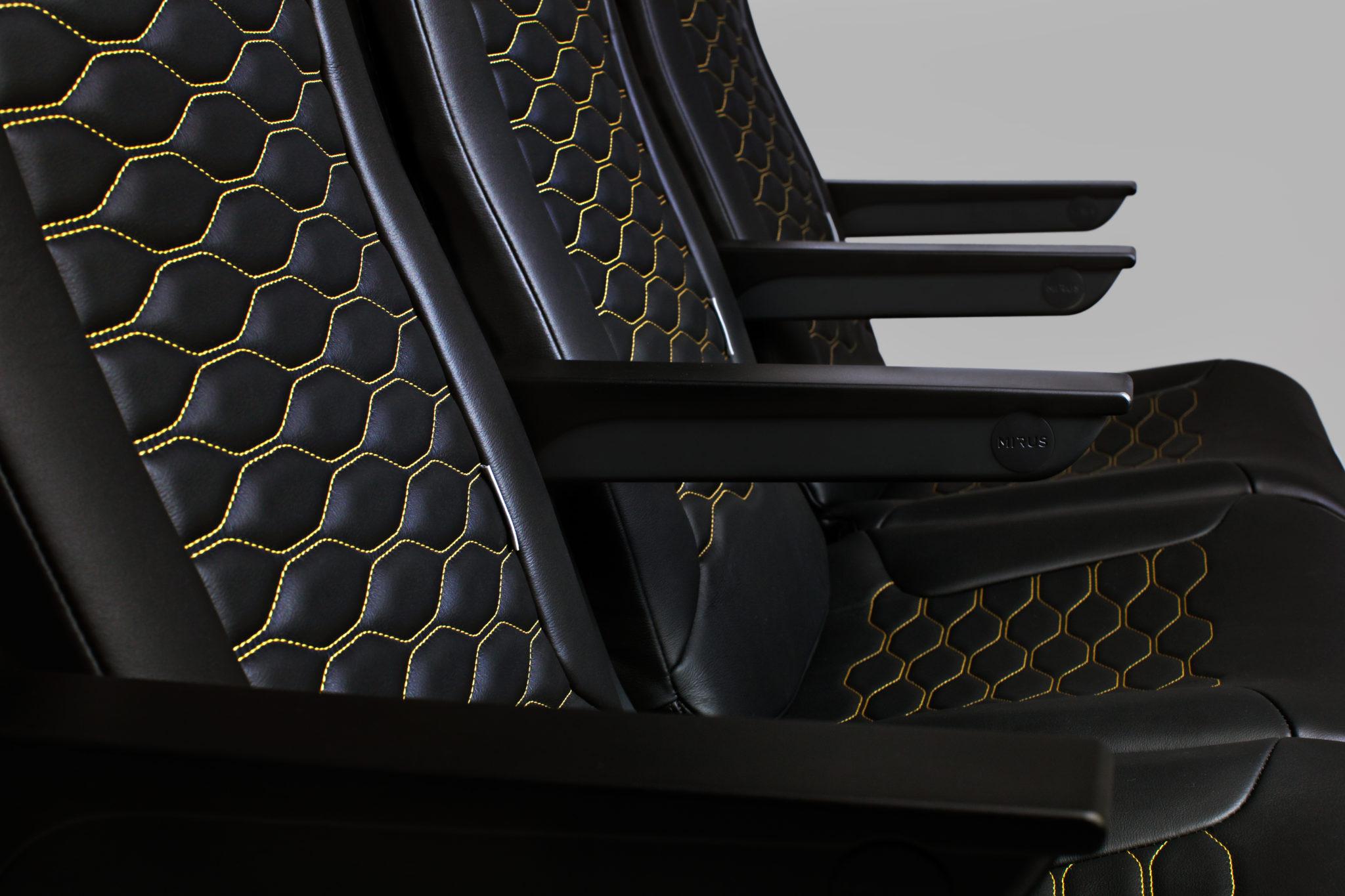 Close-up of Seat. Image: Mirus