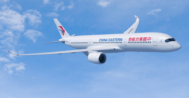 china eastern reportedly plans four classes pe on a350 900 787 9