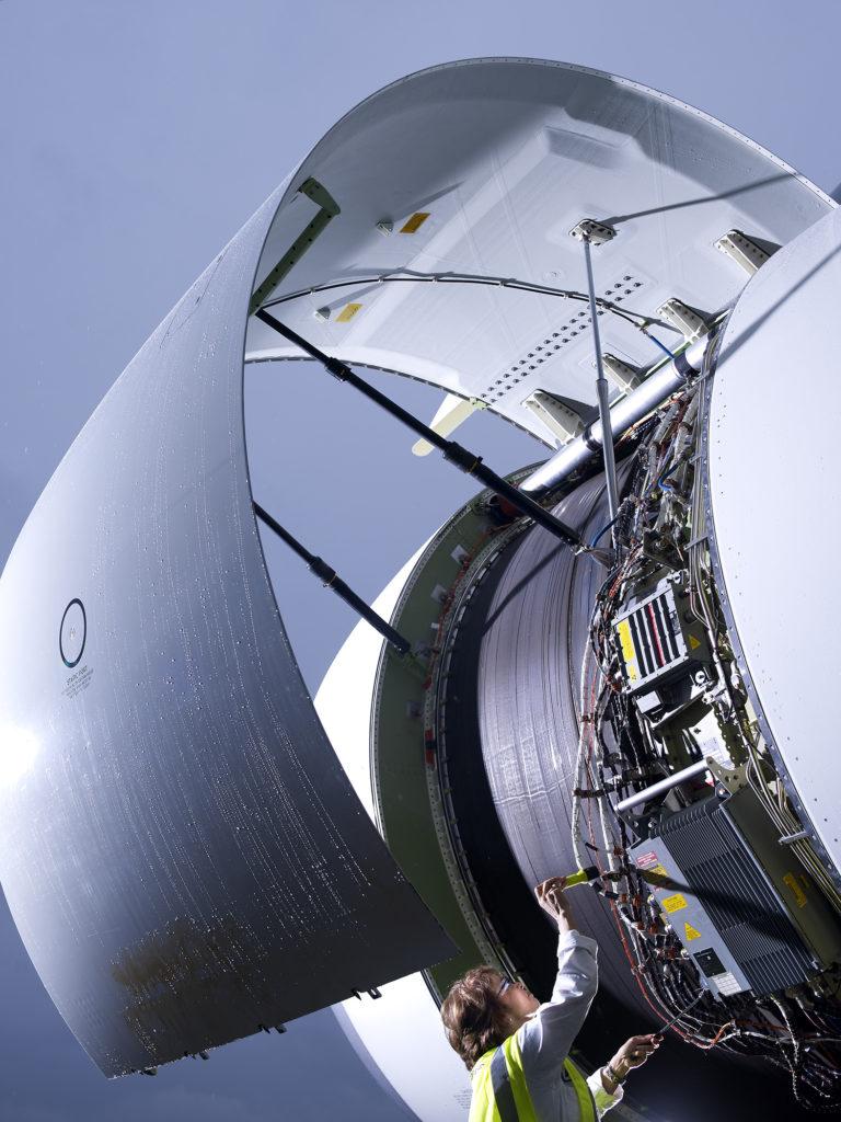 Boeing technician