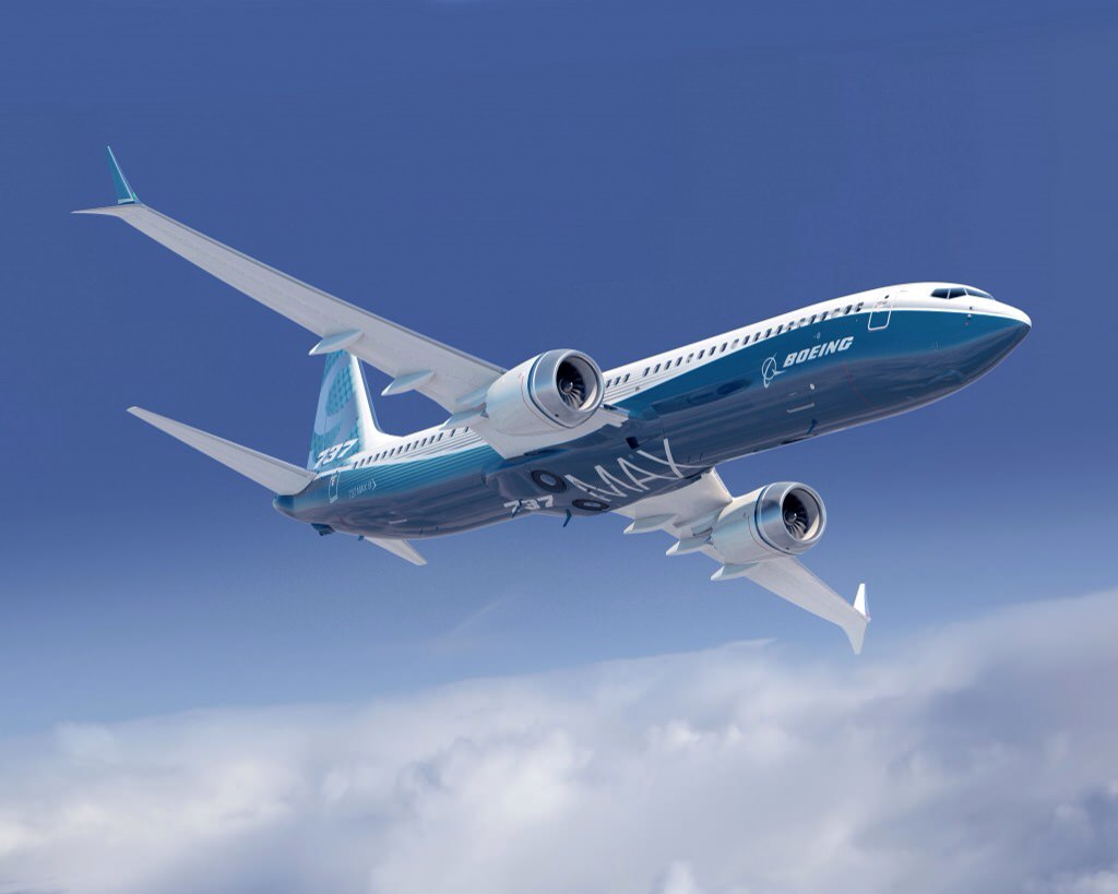 Boeing's 737 MAX 9 is less popular among airlines than Airbus' A321neo. Image: Boeing