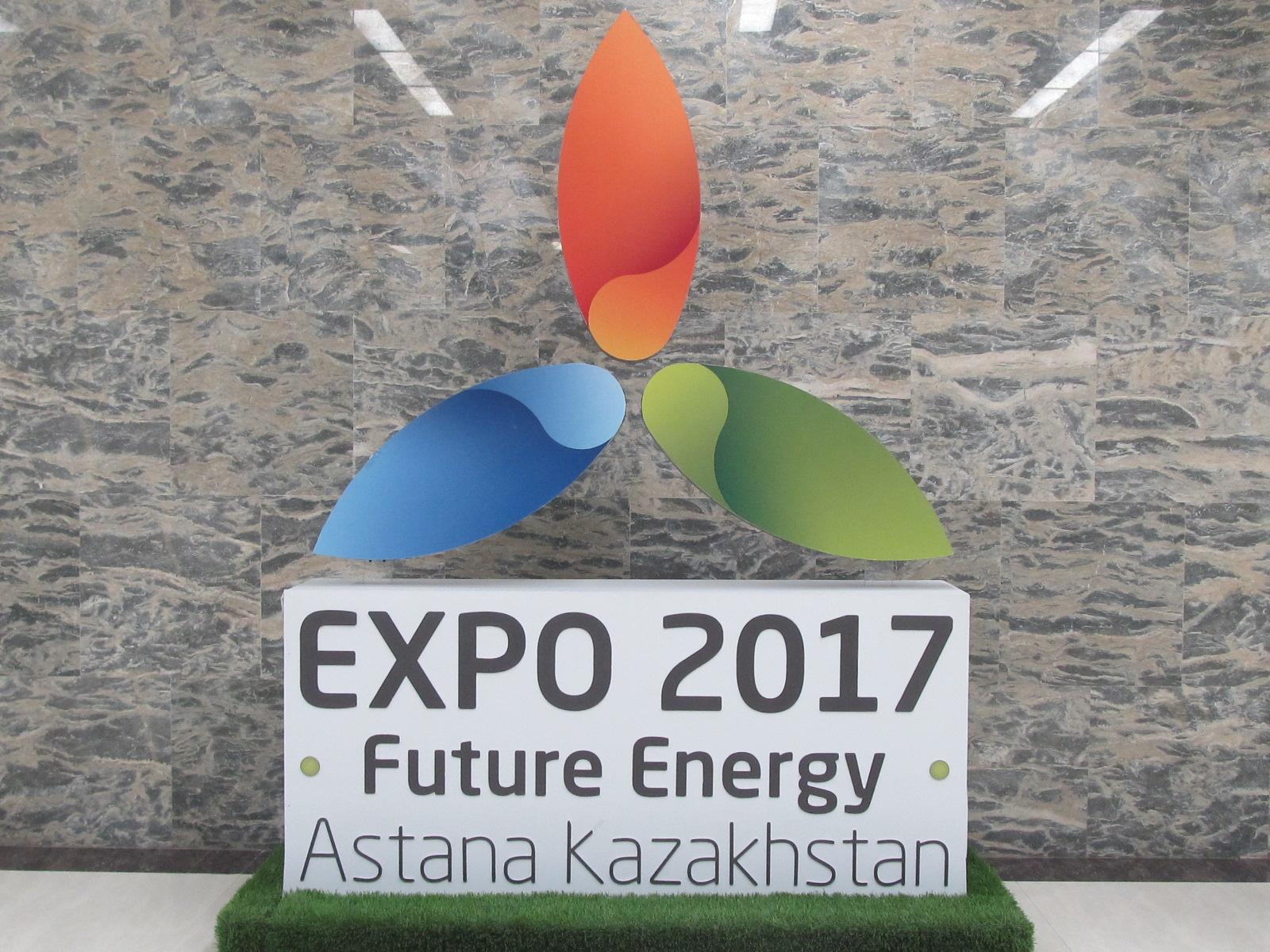 Air Astana at Future Energy Expo. Image: Neelam Matthews