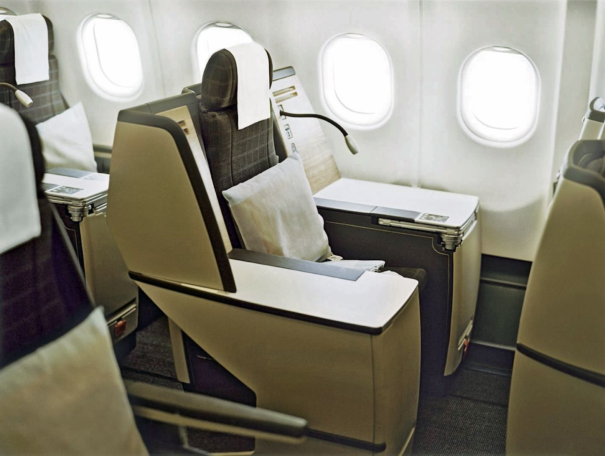 Swiss' older business class has been updated to create the newer seat. Image: Swiss