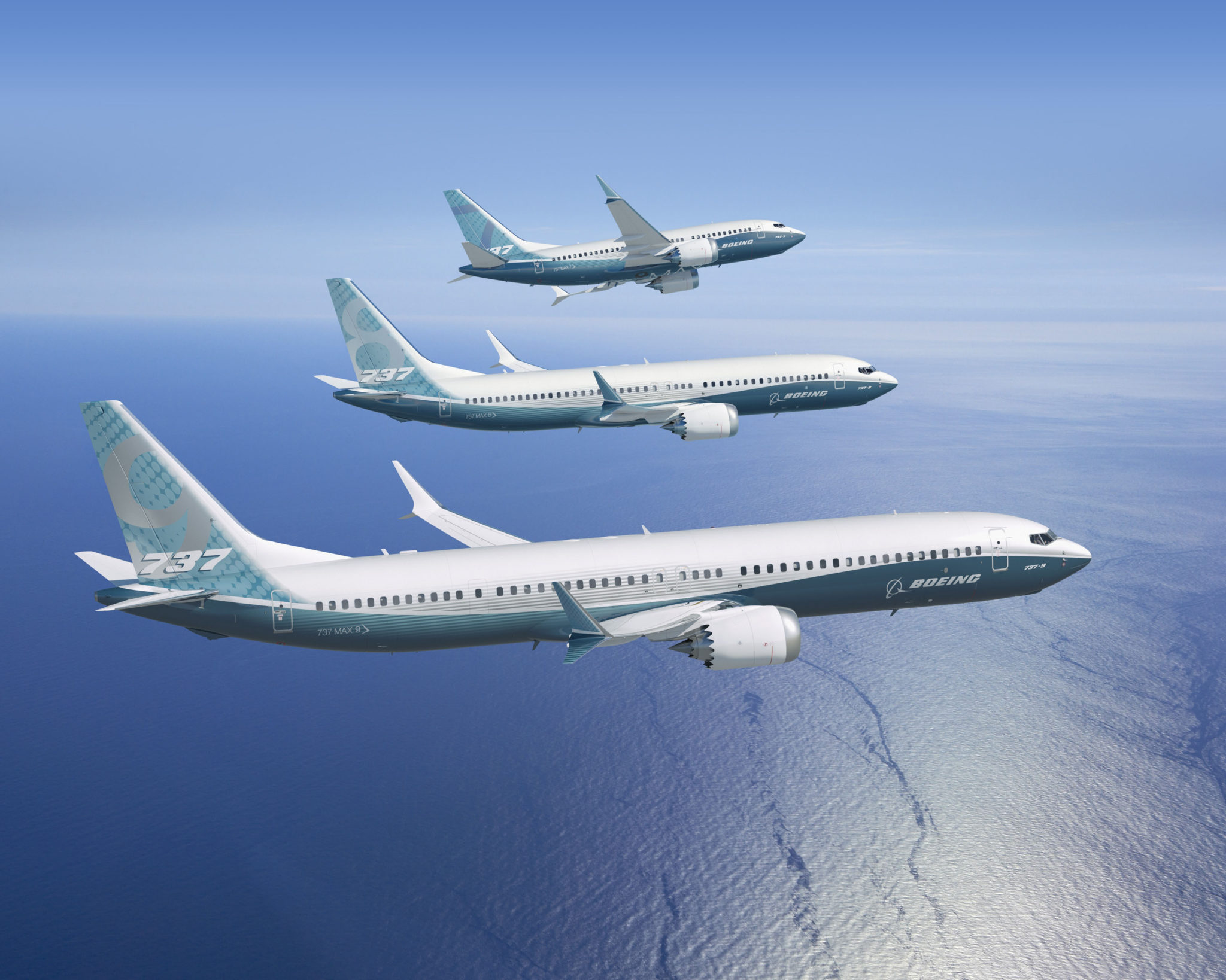 The smallest of Boeing's 737 family has grown, but the largest remains at a disadvantage. Image: Boeing