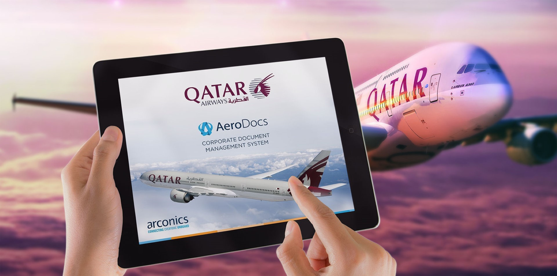 Qatar is close to the deployment of their AeroDocs System. Image: Arconics
