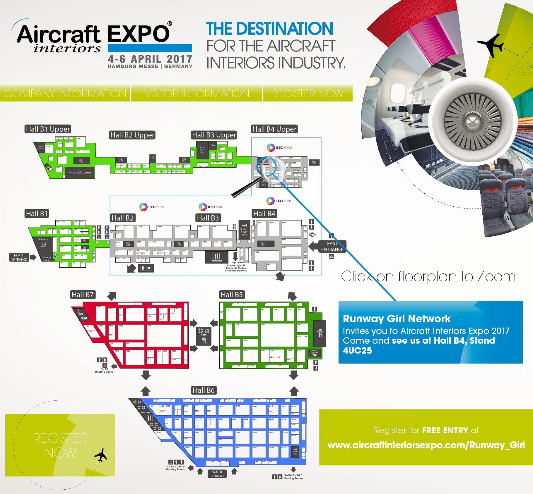 Aircraft Interiors Expo Runway Girlrunway Girl