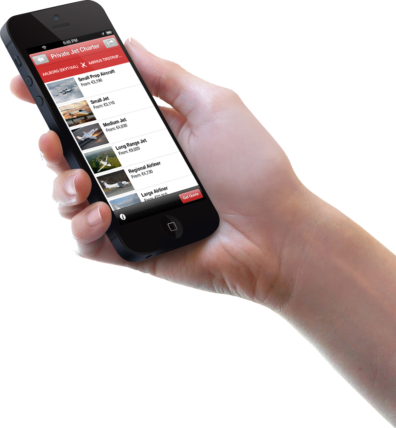 The mobile app is proving to be particularly useful in the United States. Image: PrivateFly