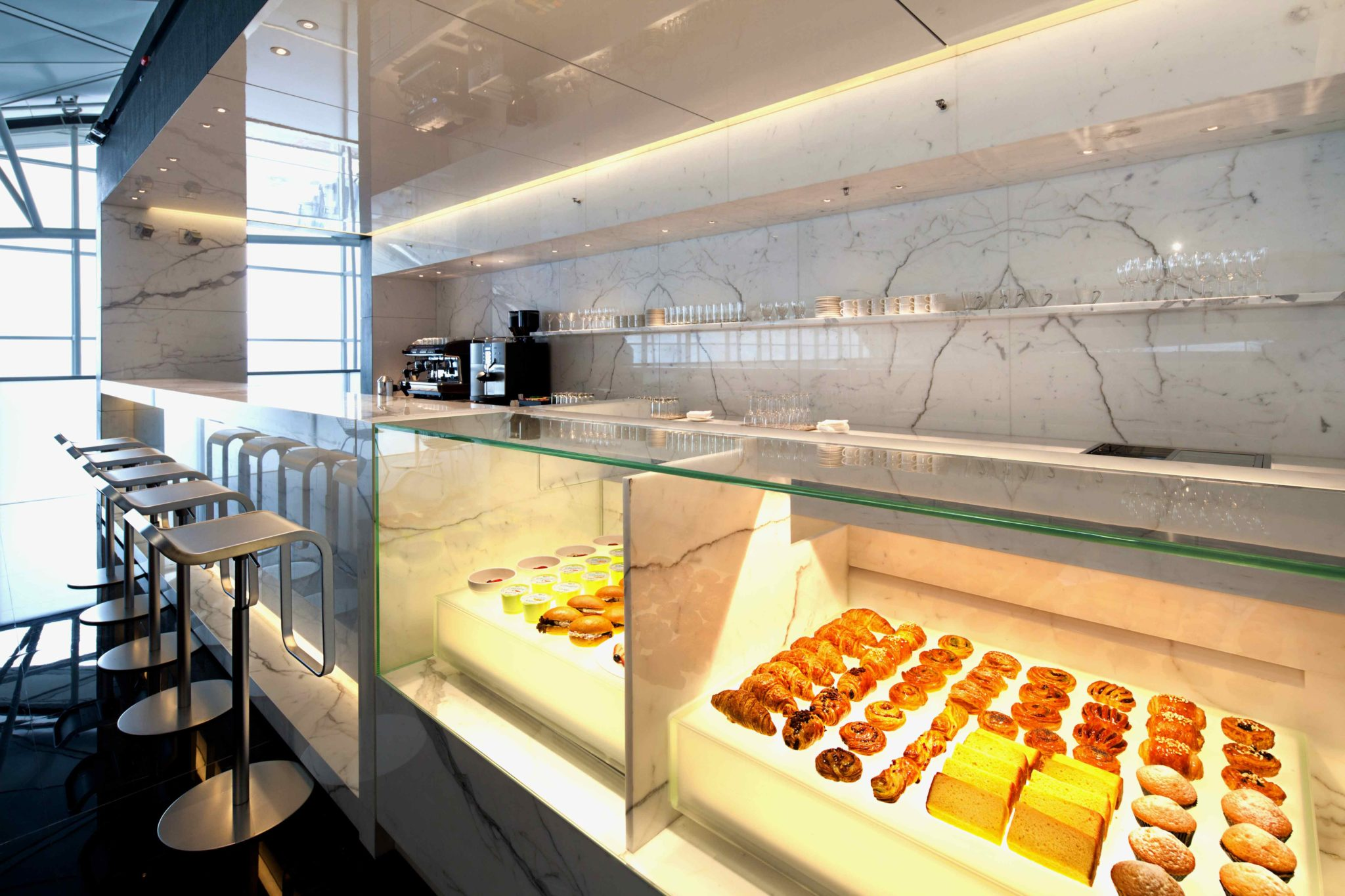 Coffee loft. Image: Cathay Pacific