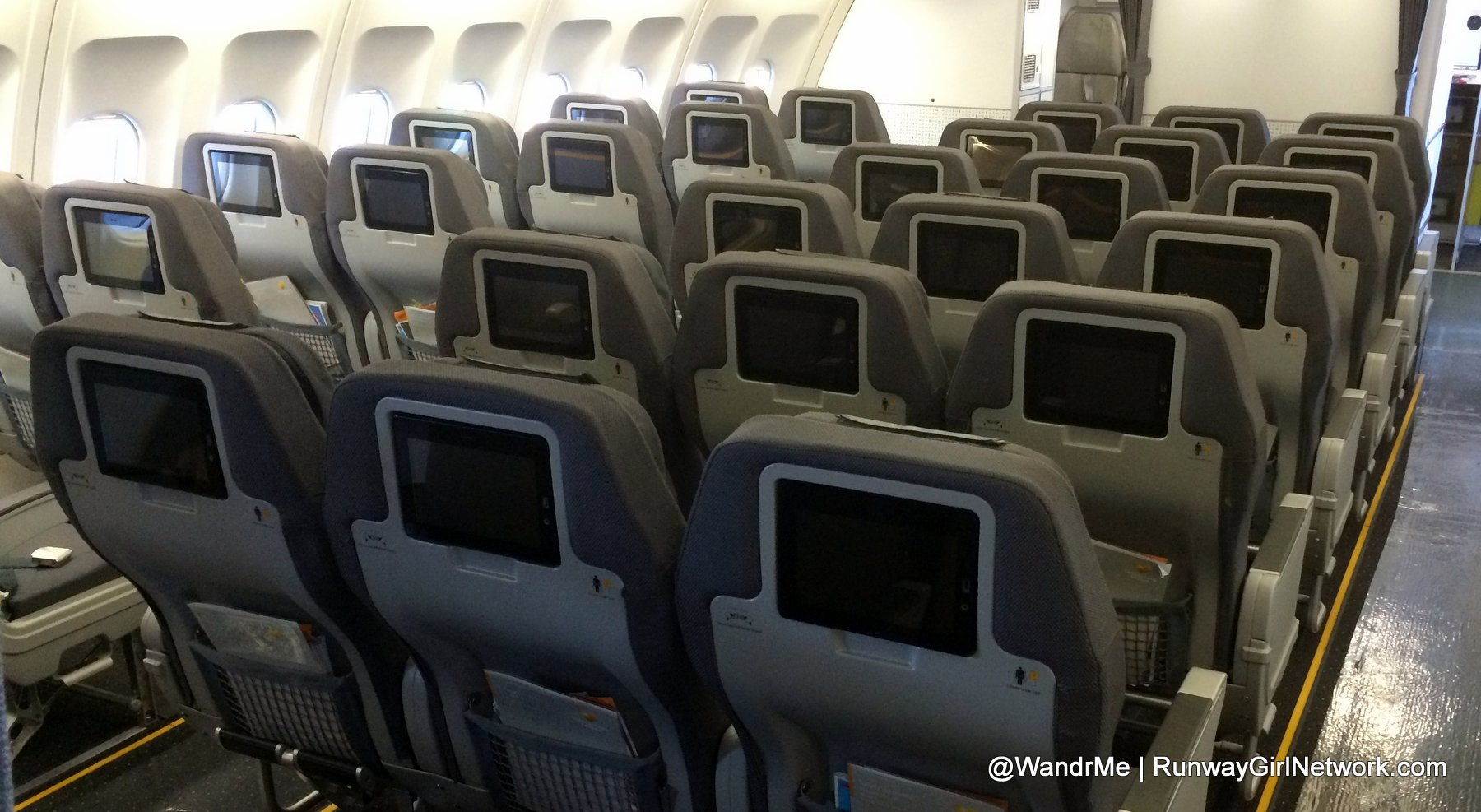 Premium Economy sells well for the Thomas Cook Group as a reasonable product at a reasonable price.