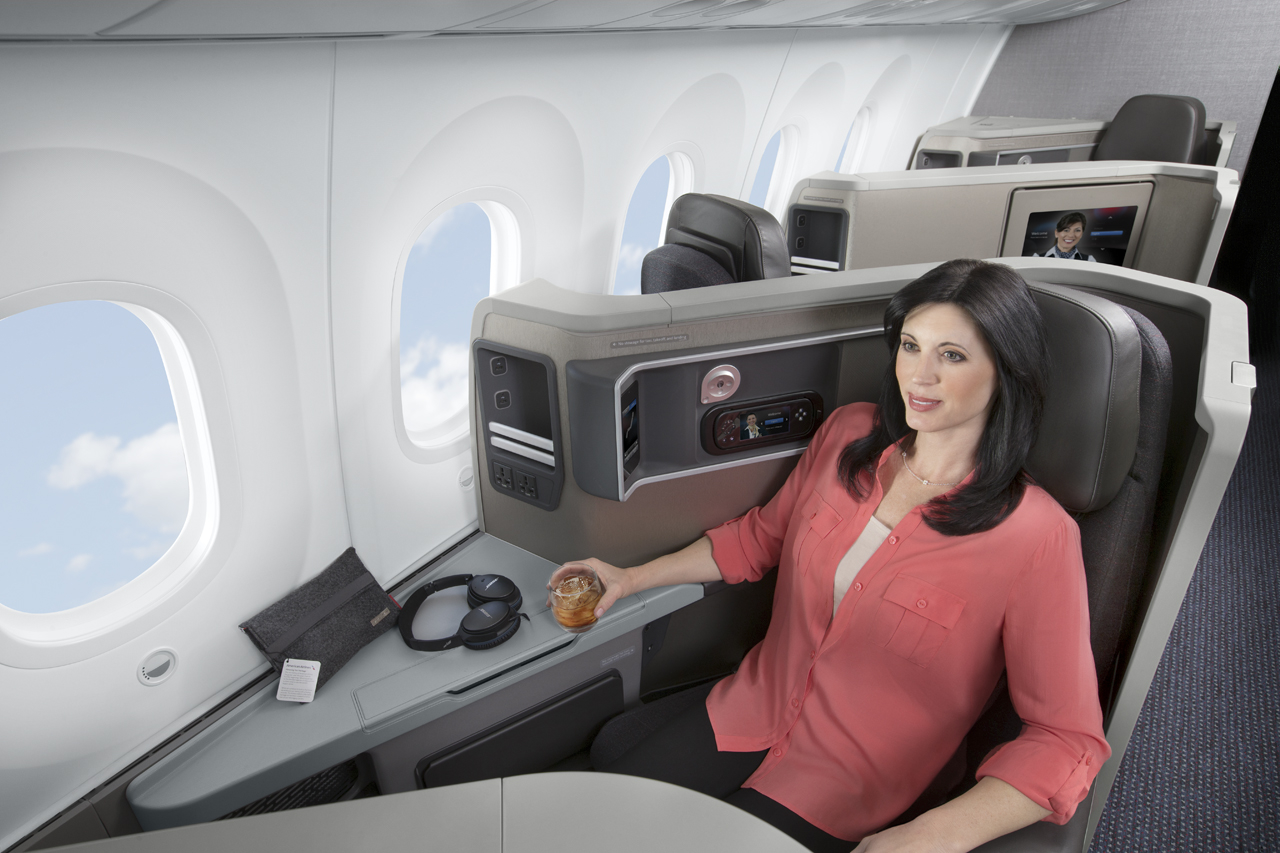 AA's Zodiac seat has proven unpopular with passengers who aren't fans of it's instability. Image: American Airlines