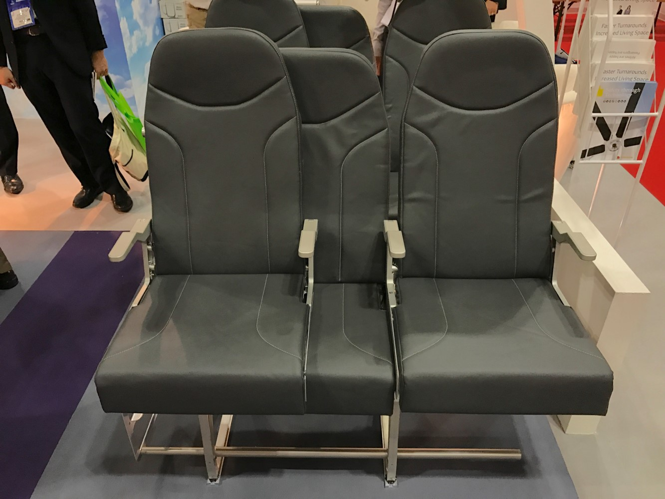 Functional design is key to this mock-up of the seat. Image: John Walton
