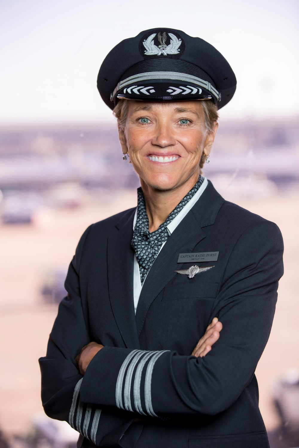 Durst is now a chief pilot at American's DFW base. Image: Kathi Durst