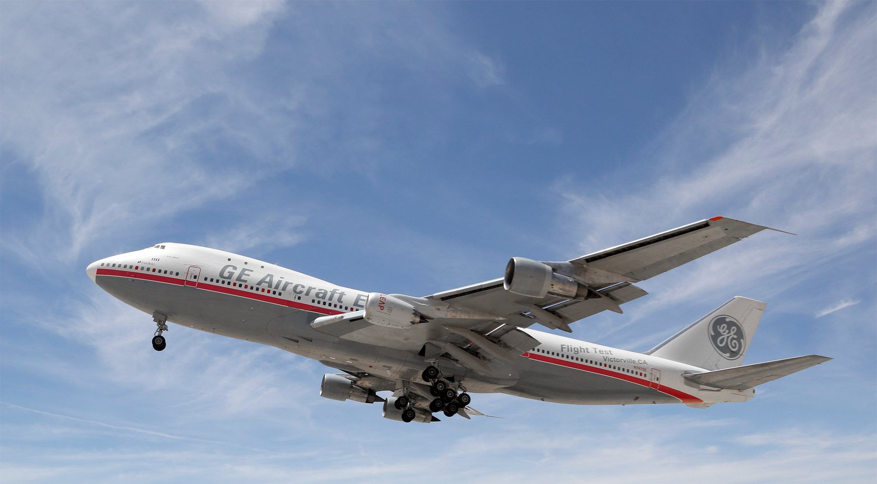 The LEAP-1B engine performed its first flight on GE Aviation's flight-test Boeing 747-200 on April 29, 2015. Image:
