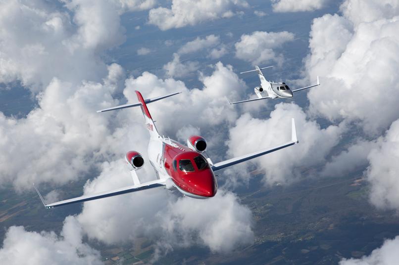 GE Honda Aero engines, an Ohio-based joint venture between GE Aviation and Honda Aero, produces the HF120 small turbofan engine which powers the HA-420 HondaJet light business jet. Image: HondaJet