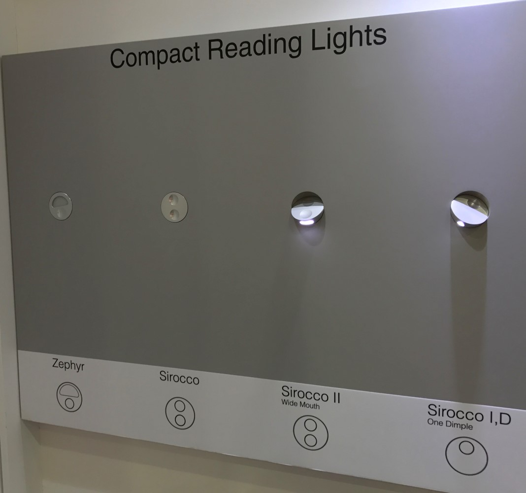 Most passengers will have encountered Beadlights round lighting products. Image: John Walton
