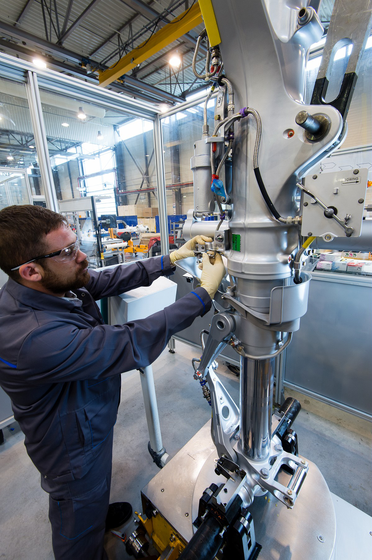 How Safran Landing Systems Tests Landing Gear Wheels And