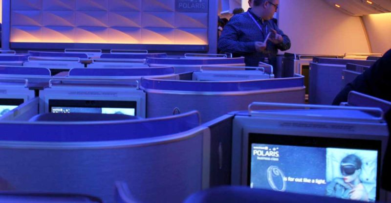 Polaris is peachy on United 777, but coach class crush is real