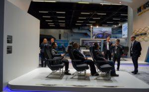aix show floor with seat display