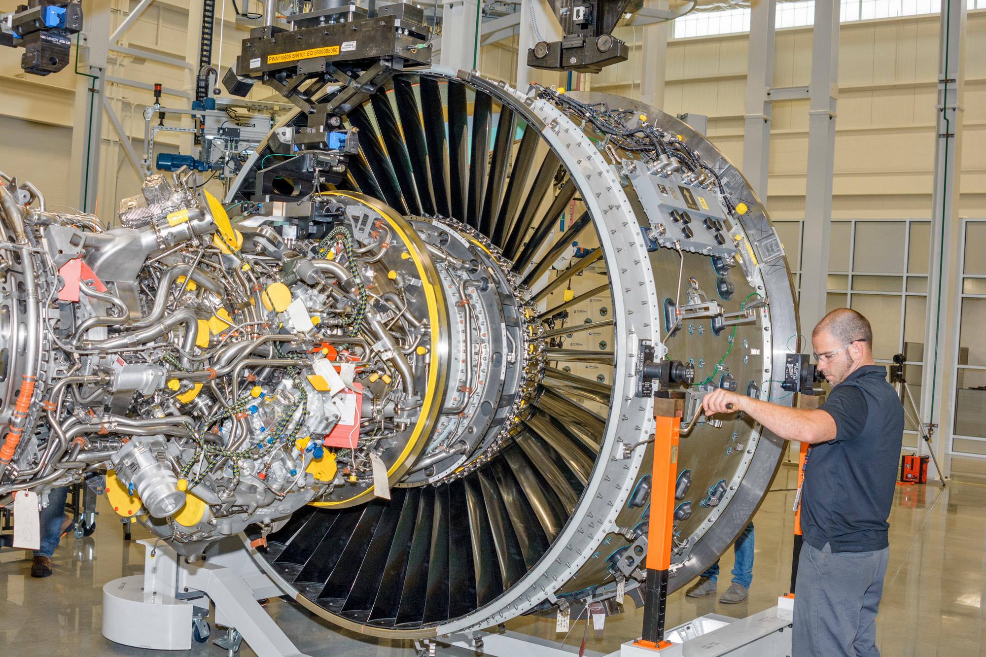 Pratt Whitney West Palm Beach Engine Center