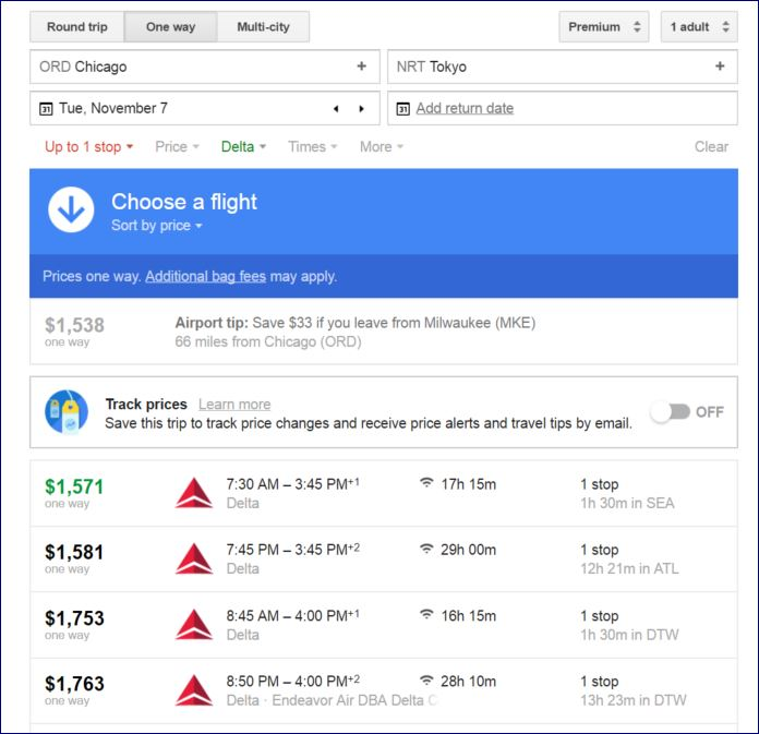 As Delta Premium Select goes on sale, the potential