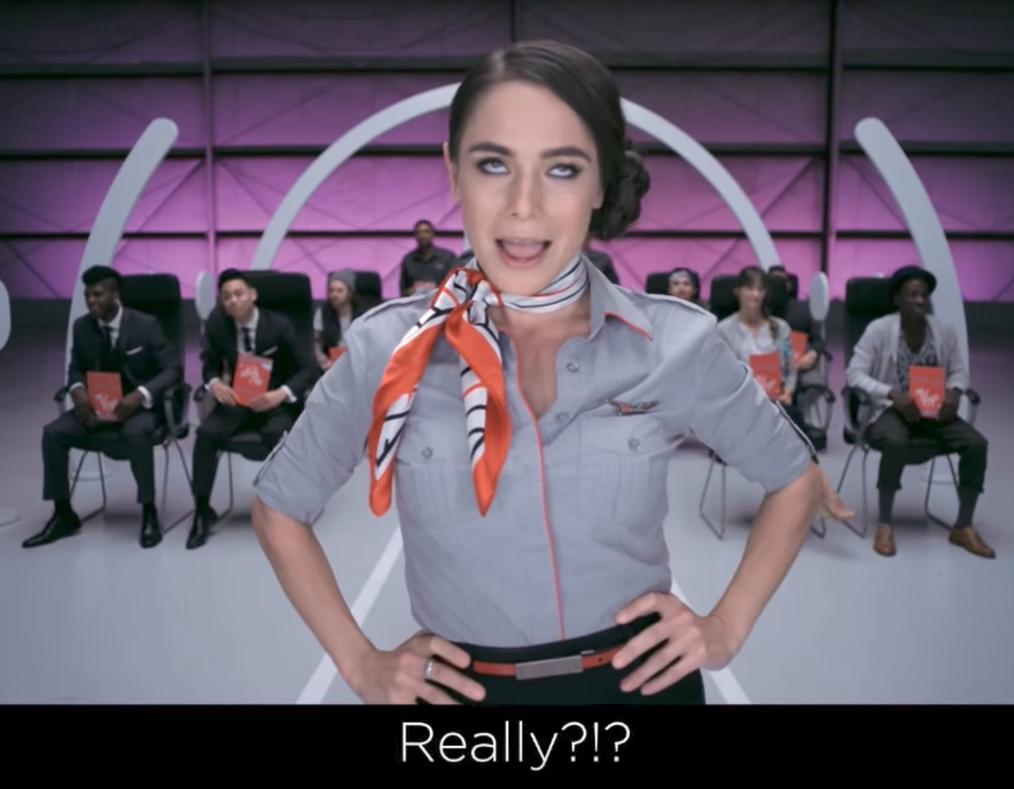 Time To Revisit Airline Safety Video Seatbelt -6650