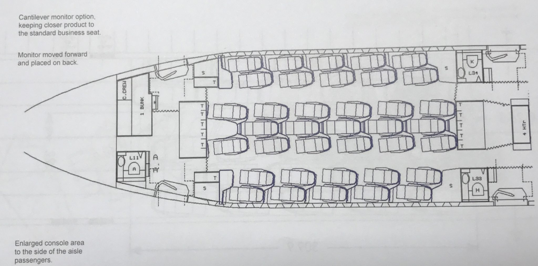 Aviointeriors Sketches Out Three Pronged Approach To Premium Economy