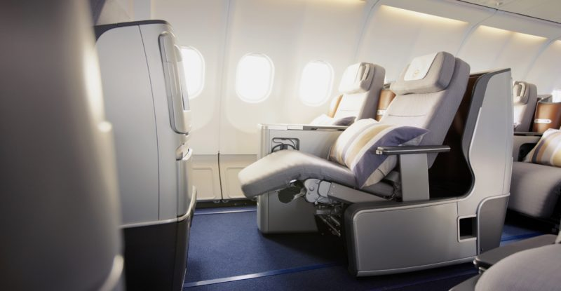 eurowings unveils new old lufthansa business class for