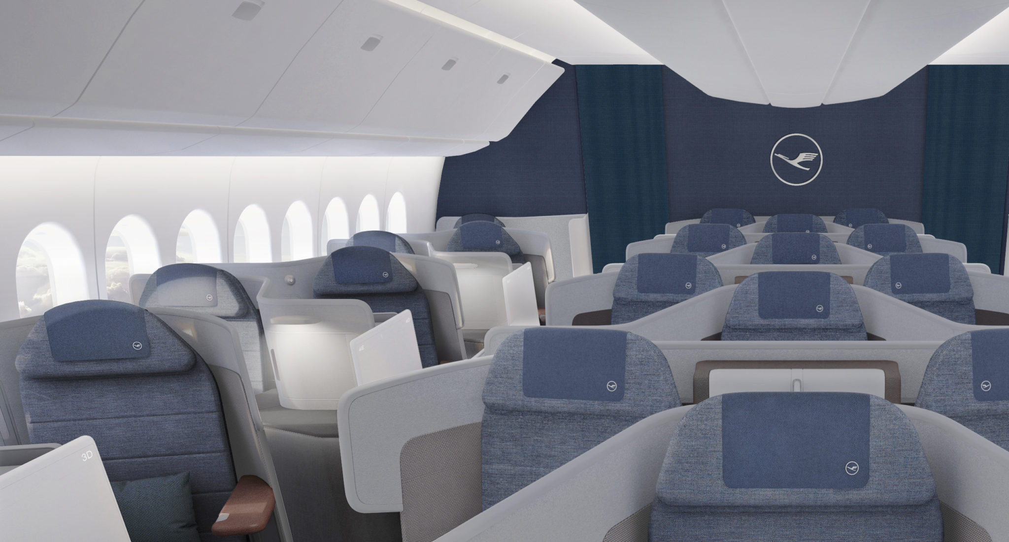 Boeing S 777x Shows Off The Latest Update To Overhead Bin Design Runway