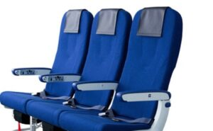 Blue ANA seats by Toyota