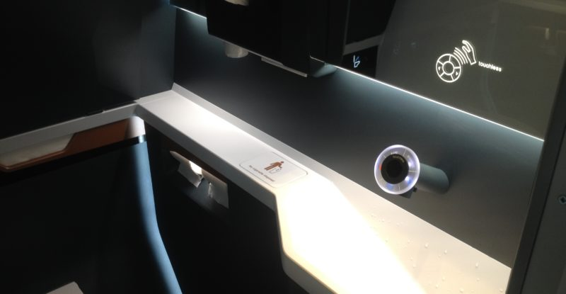 A touchless module for onboard faucets in the lav