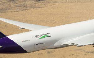 Boeing 777 EcoDemo Air to Air SAFRAN