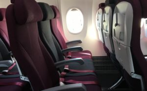 Air Italy Boeing 737 MAX economy class seats