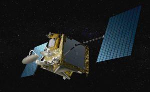 A OneWeb satellite in orbit