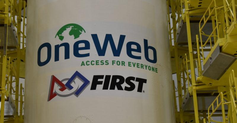 OneWeb inagural launch satellite