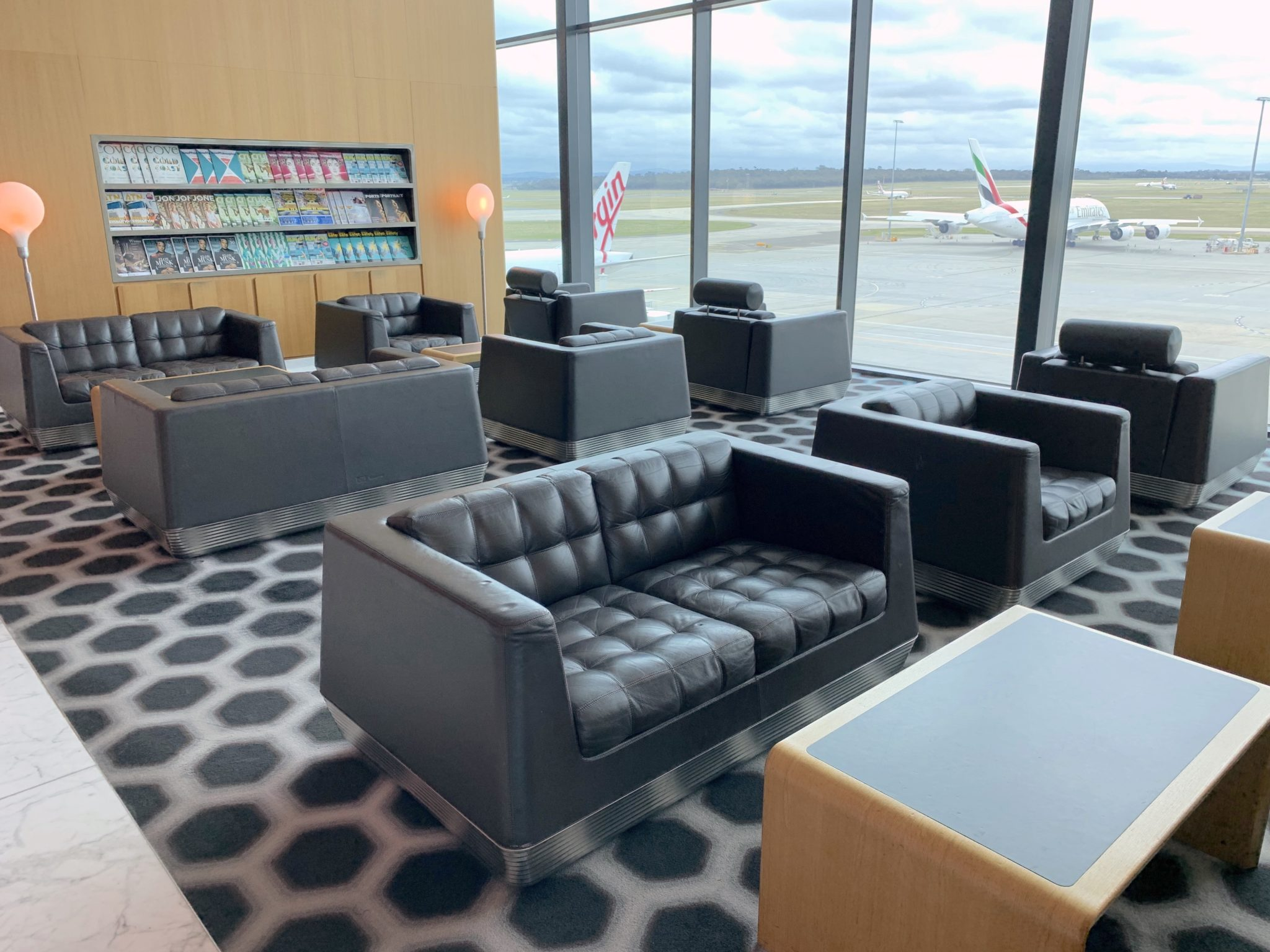 From style to squid, Qantas' first class lounges remain stars - Runway  GirlRunway Girl