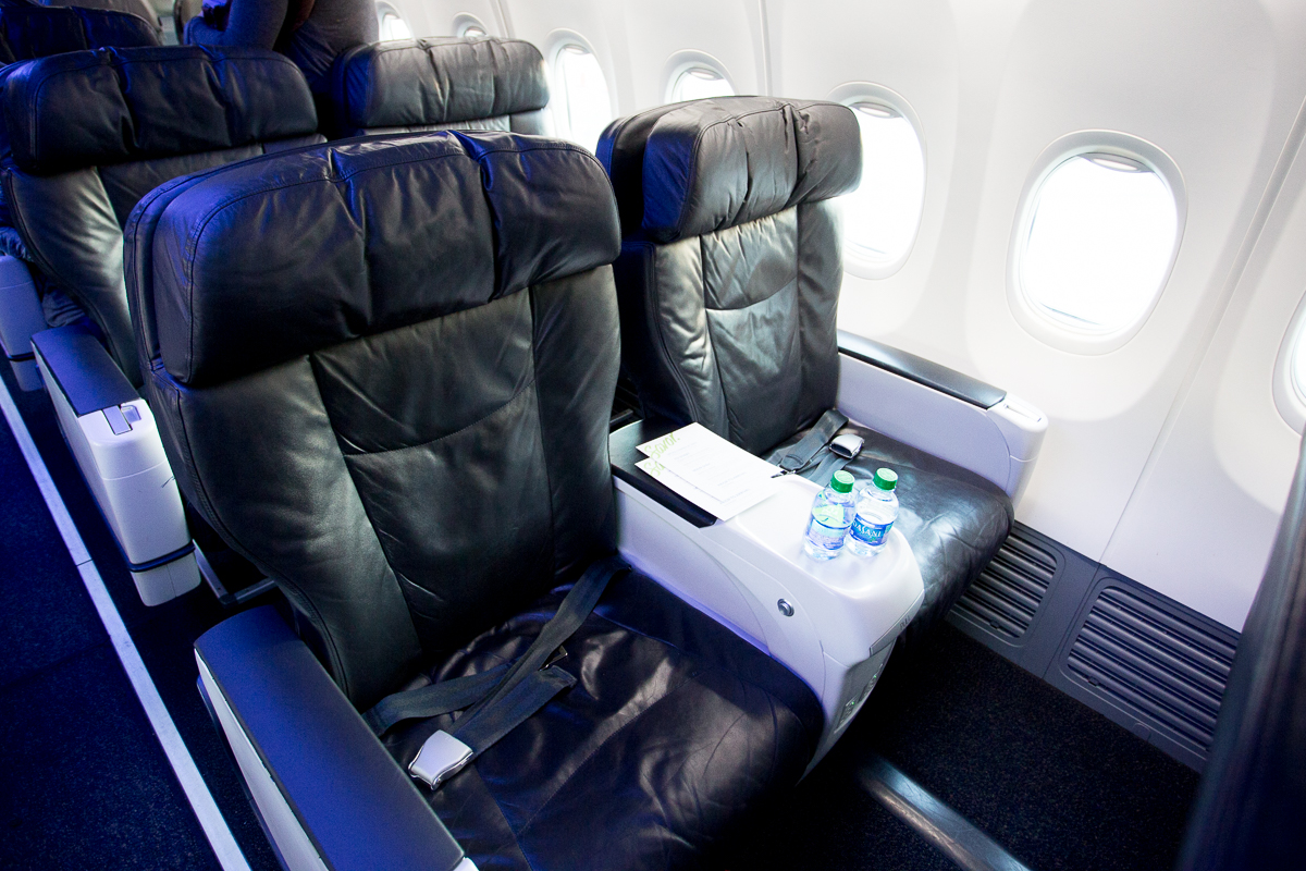 Room For Improvement In First Class On Alaska Boeing 737