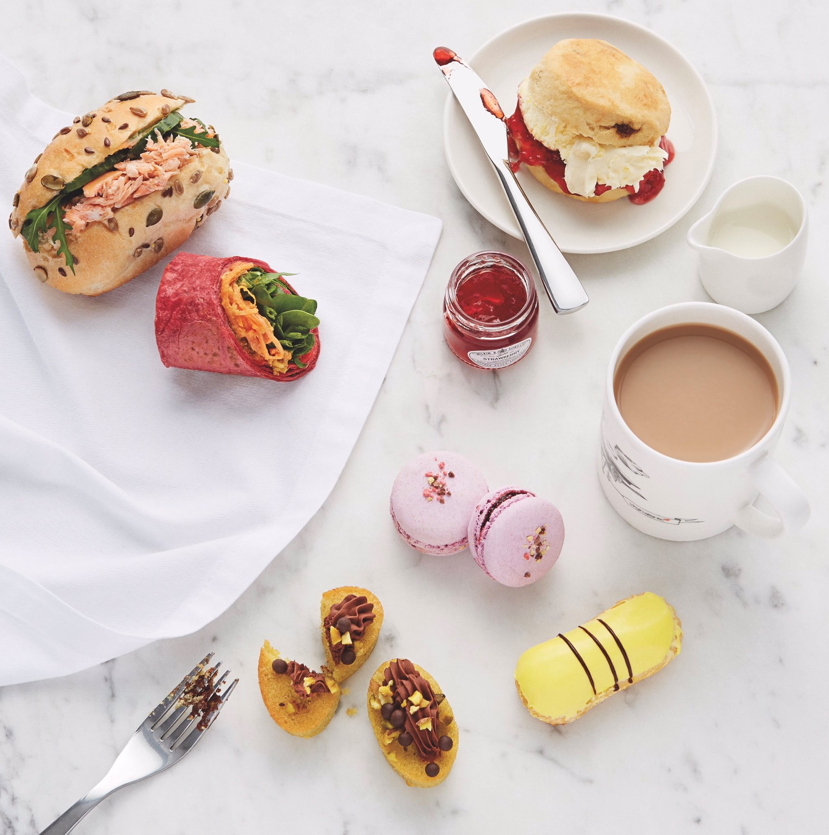 Virgin Atlantic's photo-friendly afternoon tea is bang on