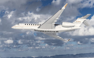 Global 7500 Bombardier belly
