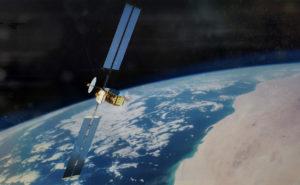 Inmarsat Aviation GX Satellite in orbit.