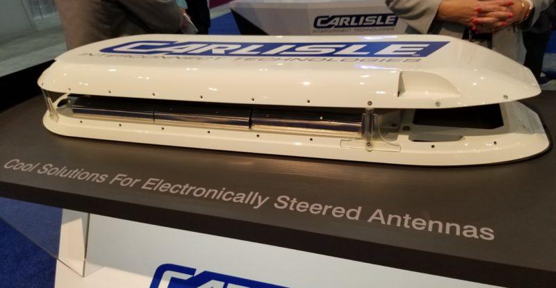 CarlisleIT ESA cooling system as displayed at APEX Expo 2019