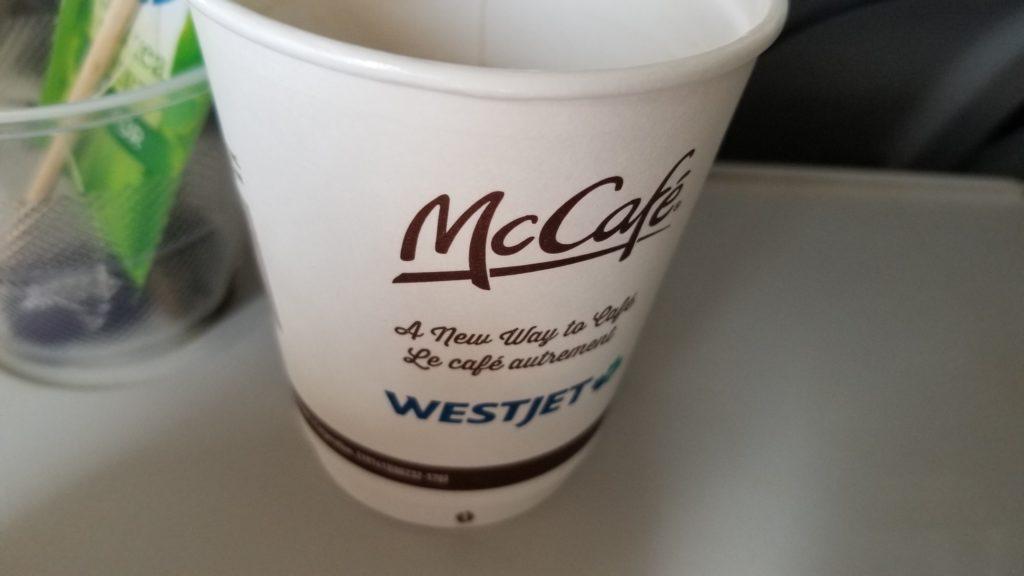 McCafe/Westjet Coffee Cup