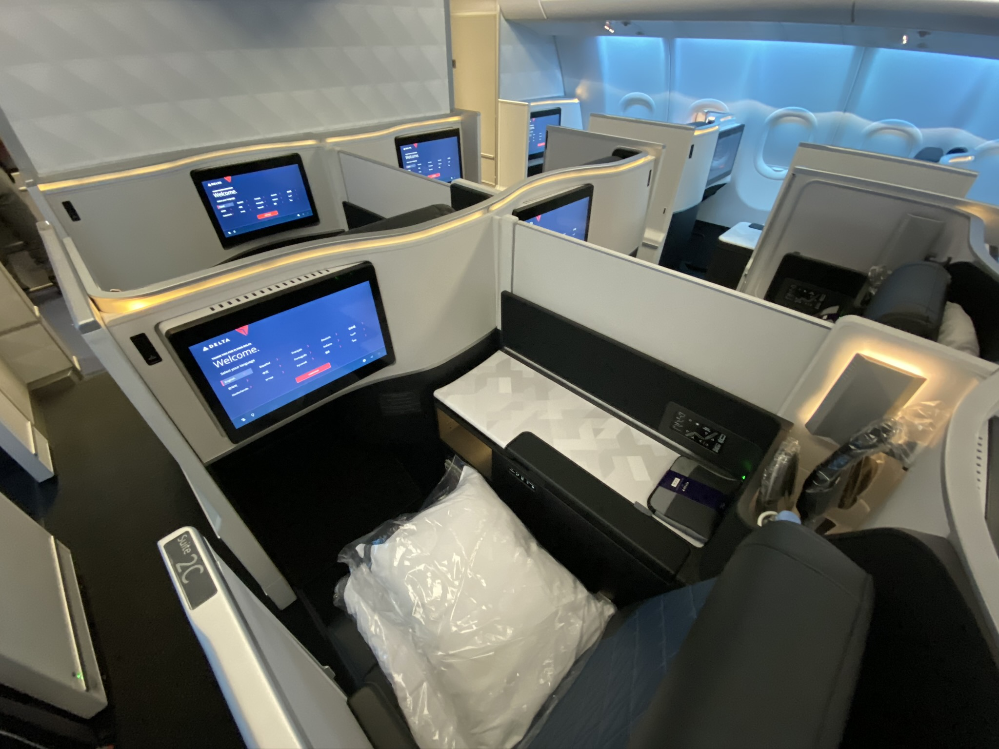 Delta IFE on A330neo primed to be slick but quirks need ...