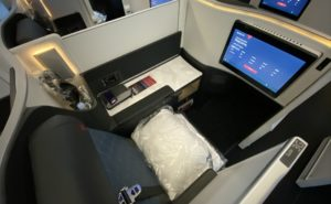 delta air lines delta one suite all set up