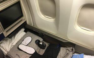 Polaris on board a United 767