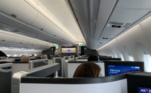 Image of first class in BA
