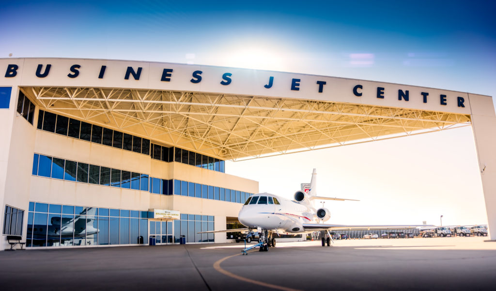 The Business Jet Center at Dallas Love Field.