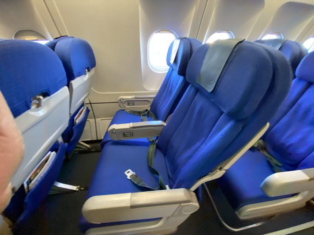 Air europa economy class interior