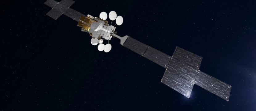 ses-17 satellite in space