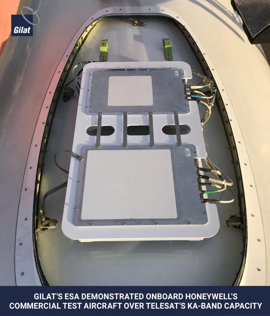 Gilat achieves ESA industry milestone – antenna image