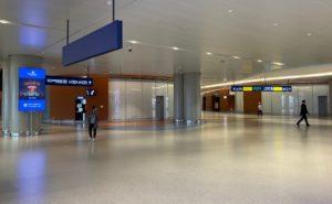 Emptyairport terminal